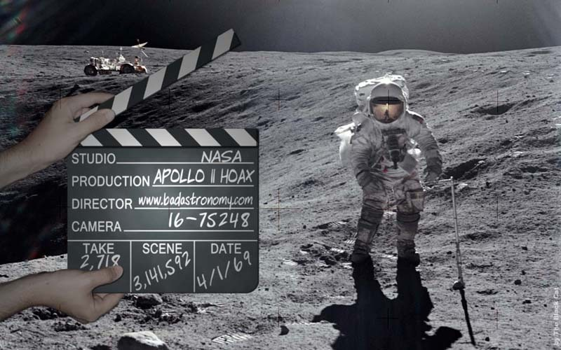 the apollo hoax In the early hours of may 16, 1990, after a week spent watching old video footage of man on the moon, a thought was turning into an obsession in the mind of ralph rene.